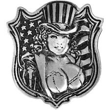 Uncle Sam Pin Up JACKET VEST OUTLAW MC BIKER PIN