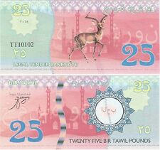 Bir Tawil - Egypt - 25 Pounds 2014 NEUF UNC Fantasy Banknote - Deer