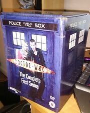 Doctor Dr Who - Series 1 - Complete (DVD, 2005, 5-Disc Set, Box Set) Eccleston