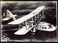 photo ancienne . avion SCYLLA  . aviation .aviateur