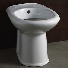 Wc-bidet integrato 2 funzioni altezza 49 cm ceramica con scarico a parete bagno