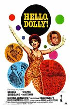 Hello Dolly movie poster (b)  11 x 17 inches - Barbra Streisand poster