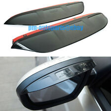 PM Door Window Mirror Rain Snow Shield Guard Trims Visor for Mazda 3 Axela 2014
