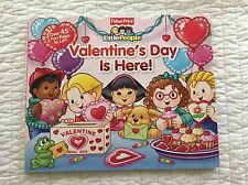 Fisher Price Little People Flap Book Valentine's Day Is Here