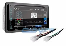 "NEW SOUNDSTREAM 6.2"" CAR STEREO RADIO BLUETOOTH W/ INSTALLATION PARTS W/ USB/AUX"