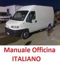 Fiat DUCATO X230 Seconda  serie 2° (1994/2002) Manuale Officina ITALIANO