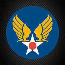 US Army Air Corps Hap Arnold Patch Vinyl Graphics Decal Sticker Car Window