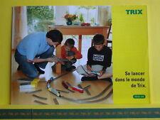 Catalogue TRIX 2005 F Se lancer dans le monde de TRIX - Neuf 8 p