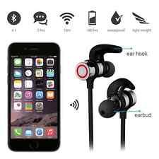 V4.1 Headphone Sports Wireless Bluetooth Earbuds Headset Earphone Magnet In-Ear