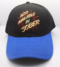 Drinking Humor Also Available in Sober Beer Alchohol Ball Cap Hat in Black h16