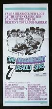 THE MAGNIFICENT 7 DEADLY SINS 1971 Leslie Phillips Daybill Movie Poster