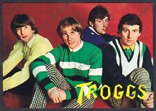 THE TROGGS 01 CANTANTI SINGERS BAND MUSICA ROCK MUSIC - UK Cartolina NON FOTOGR.