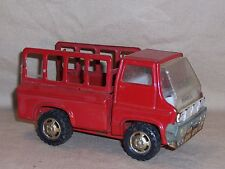 MARX PICKUP / FIRE TRUCK  MADE IN JAPAN Pressed Steel
