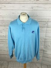 Men's Nike Oregon USA Retro Collared Sweatshirt - XL - Blue - Great Condition