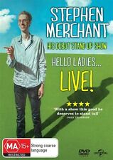 Stephen Merchant: Hello Ladies Live DVD R4 NEW