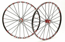 "Remerx Tubular Al 26"" MTB Disc Wheels  Shimano Sram Tufo CX"