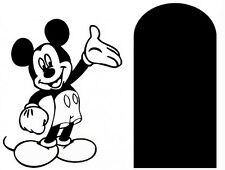 Micky Mouse - Mouse Hole  Wall Sticker Wall Decal Window Decal
