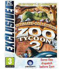 "ZOO TYCOON 2 ULTIMATE COLLECTION ( PC DVD) "" BRAND NEW & FACTORY SEALED"""