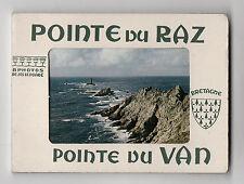 DÉPLIANT TOURISTIQUE SOUVENIR Bretagne Pointe du Raz Van Ed. Nos Le Doaré 8 vues
