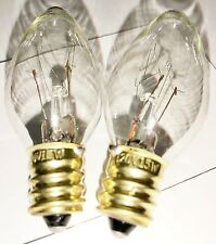 2-pack Himalayan Salt Lamp Bulbs 15 Watt 120 volt 15W bulb 2-15W