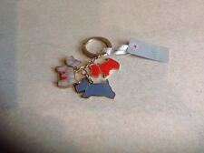RADLEY TRIO OF DOGS METAL KEY RING BRAND NEW WITH TAGS
