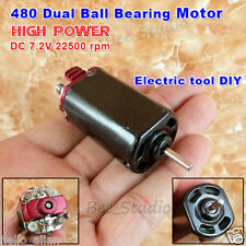 6v ~ 7.2V DC High Quality Power Speed Ball Bearing Motor For Electreic Tools