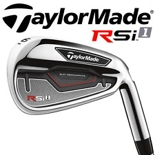 """NEW 2016"" TAYLORMADE RSI1 IRONS 4-PW +STIFF REAX STEEL SHAFTS & TM GRIPS"