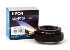 Turn 360 Kipon Tilt Adapter for M42 mount lens to Sony E NEX 5 6 7 a7 a7r latest