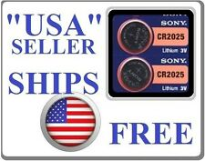 2x SONY CR2025 3V-Coin Batteries for MERCEDES BENZ  KEYLESS ENTRY REMOTE KEY FOB