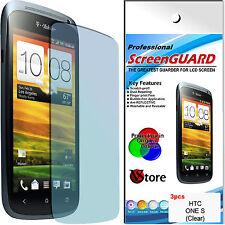 3 Pellicole Per HTC ONE S Proteggi Salva Schermo Display LCD Pellicola