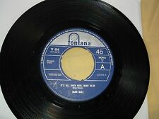"Joan Baez  ""It's All Over Now Baby Blue"" 7"" 45 r.p.m."