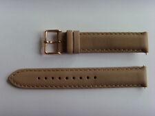 FOSSIL Original Ersatz Lederarmband BQ1751 Uhrband watch strap braun brown beige