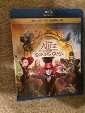 Alice Through The Looking Glass Bluray 1 Disc Set(No Digital HD)Ready To Ship