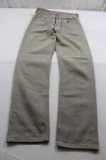 H5280 Levi 's 501 0137 jeans w27 marrón monocromo muy bien