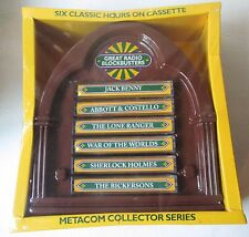 Metacom Collector Series Great Radio Blockbusters Showcase 6 60 min Cassettes