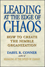 Leading at the Edge of Chaos, Daryl R. Conner