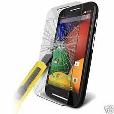 100% Genuine Tempered Glass Film Screen Protector for Motorola Moto E 1st Gen