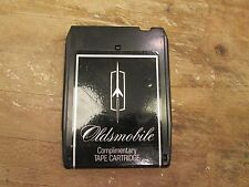 Vintage 1974 OLDSMOBILE Complimentary 8 TRACK TAPE CARTRIDGE Car Auto CBS Retro