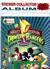 Mighty Morphin Power Rangers Sticker Activity Album (1994) Merlin Sealed
