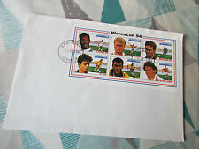 USA 94 / 1994 World Cup Dominica Post Mark FOOTBALL First Day Cover / FDC