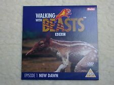 BBC WALKING WITH BEASTS NEW DAWN DVD