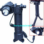 CREE LED Flashlight/Torch+Red Laser/Sight W06 fit gun Glock 17 19 22 20 23/Grip