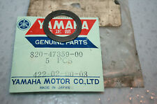 nos yamaha snowmobile rear suspension wheel washer gpx sr gp 338 433 643