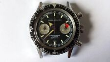 VINTAGE Nivada Grenchen Chronomaster Aviator Sea Dive CAL. VALJOUX 23 SWISS MADE