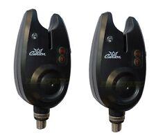 2 avvisatori abboccata carpfishing ml16 segnalatori acustici impermeabili carpa