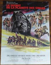 Ancienne Affiche Cinéma LE SECRET DE LA PLANETE DES SINGES. Cinema Movie Poster.