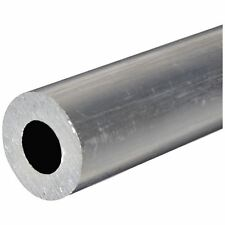 "6061-T6 Aluminum Round Tube / Hollow Bar  1-3/4"" OD, 1"" ID, 12"" long"