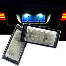 2x 18LED White License Number Plate Light For BMW E46 2D Coupe Convertible 98-03