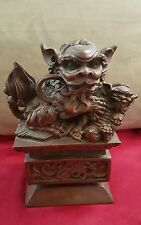 Bombay Company Chinese Asian Foo Dog Statue Feng Shui - RARE - Discontinued 2000