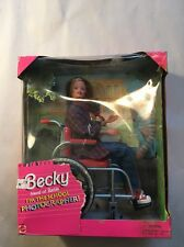 NIB-1998- BECKY- WHEELCHAIR- FRIEND OF BARBIE